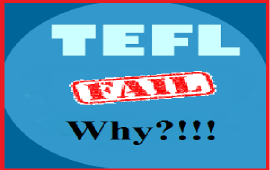 why TEFL fail in most countries