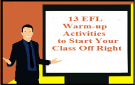 EFL warmers to start your lessons