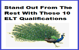 qualifications to get good ELT job