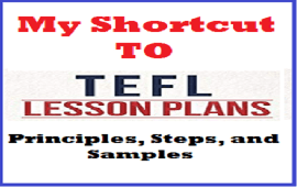 principles, steps and samples of EFL lesson plans