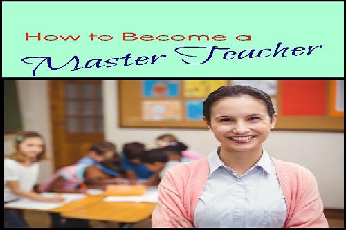 become a master teacher