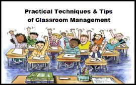 techniques and tips of classroom management