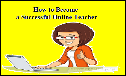 become a successful online teacher