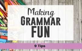 how to make grammar teaching fun