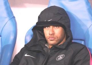 Neymar-angry