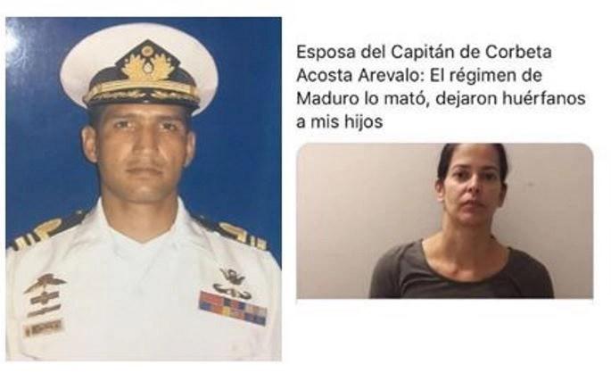 CC Acosta Arévalo asesinado