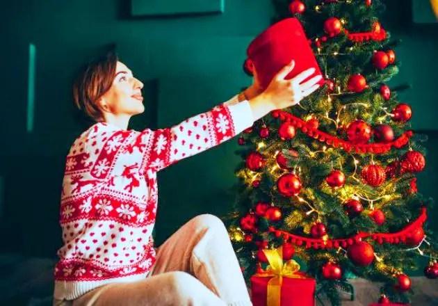Historia de los árboles de Navidad
