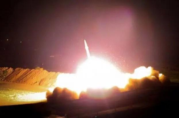 Irán atacó base estadounidense en Irak este martes. Al menos treinta proyectiles fueron disparados