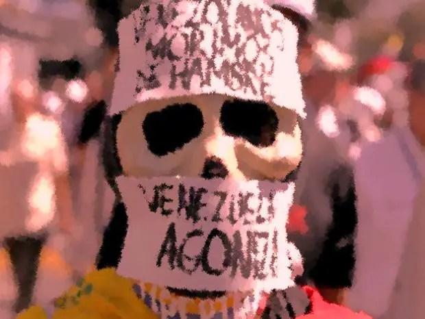 Estragos de la tragedia económica en Venezuela