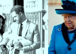 La Reina Isabel tiene la custodia del hijo de Harry y Meghan