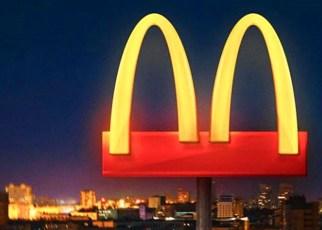 Distanciamiento social de McDonald's por el coronavirus