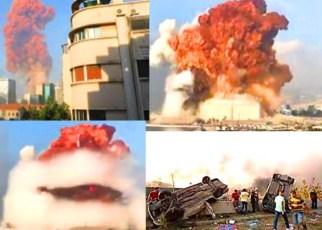Qué explotó en la tragedia del Líbano