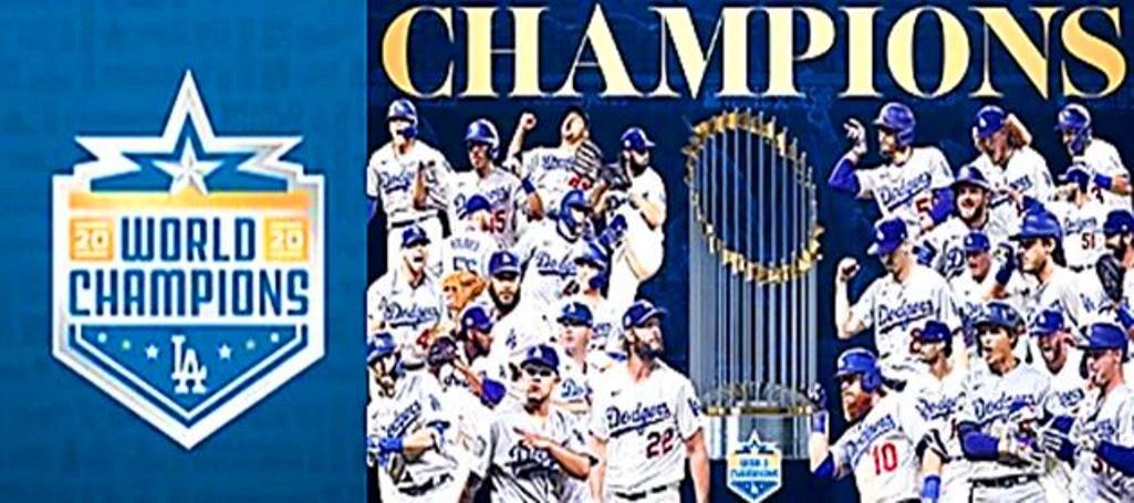 Los Angeles Dodgers se coronan campeones de la serie mundial 2020