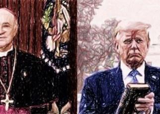 Impactante segunda carta del ex-nuncio apostólico en EE.UU a Trump sobre el Gran Reseteo mundial