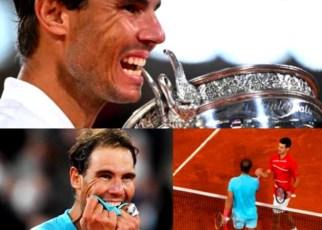 Rafael Nadal alcanzó números de leyenda