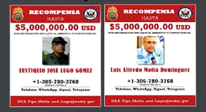 Estados Unidos ofrece recompensa por dos ex ministros del régimen de Maduro