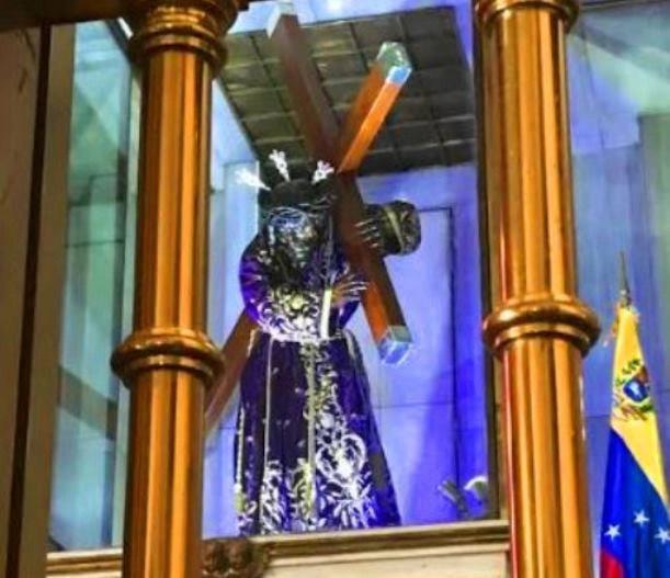 Nazareno de San Pablo recorre Caracas