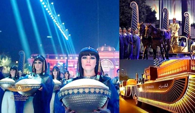 El Desfile Dorado de los Faraones en Egipto
