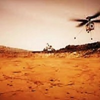 Helicóptero de la NASA en Marte
