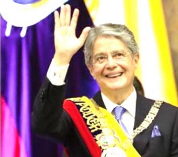 Guillermo Lasso inauguró su presidencia