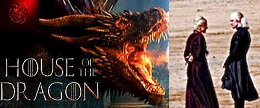 Primeras imágenes de la filmación de House of the Dragon