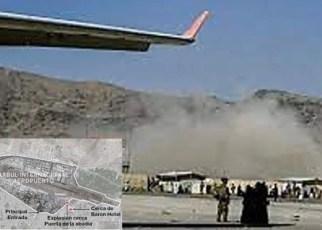 Atentado de Estado Islámico en aeropuerto de Kabul debilita más imágen de EEUU