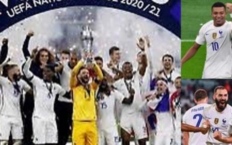 Francia campeona de la UEFA NATIONS LEAGUE