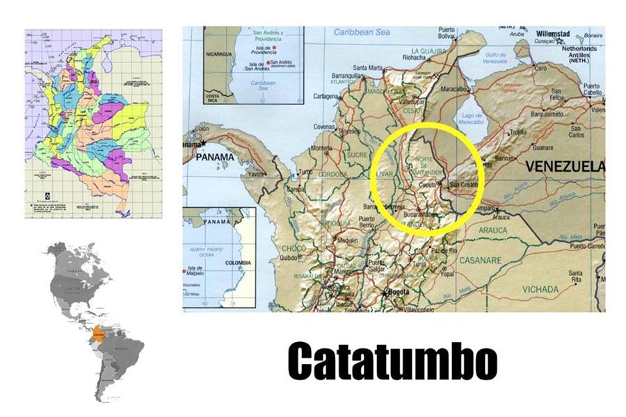 Parque Nacional Natural Catatumbo Barí - Colombia Travel