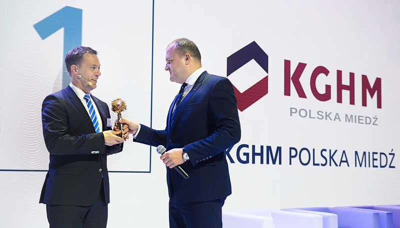 KGHM zwyciężył w rankingu najbardziej atrakcyjnych przedsiębiorstw w Polsce