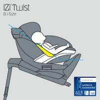 silla de coche izi twist ergonomica recien nacido
