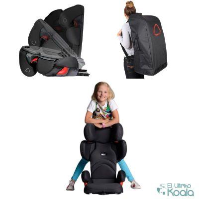 viajar en coche con niños, mejor silla grupo 2-3
