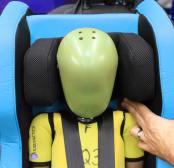 silla coche plegable nachfolger, seguridad y plus test