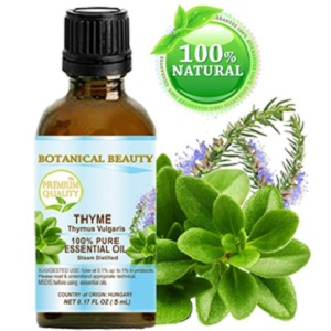 Thyme Essential Oil Therapeutic Grade from Botanical Beauty