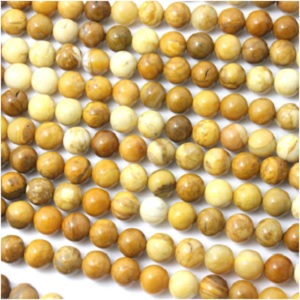 Yellow Jasper Natural Round Beads from Fashion Trend