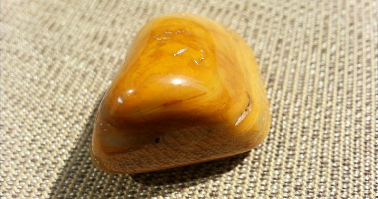 The Traveler's Stone: Yellow Jasper Meaning and Uses — Crystal Meanings