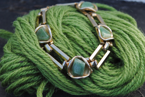 Green Aventurine can spark creativity, ignite imagination and help bring mental focus and clarity.  It is a stone of optimism, helping with seeing the good in any situation and turning something negative into a positive that can work out favorably. -- Green Aventurine Benefits and Uses