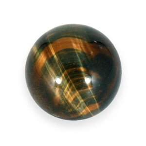 Tigers Eye Blue Crystal Sphere from CrystalAge
