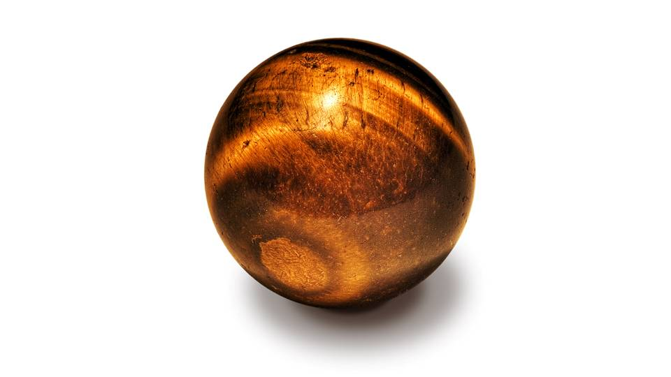 Tiger's eye stone is an interplay between the powers of the Earth and Sun.  Their characteristic golden bands draw down the energy of the sun, while its muddy, brown veins ground it in natural earthen energies. -- Tigers Eye Meaning and Uses