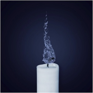 Candle Flame Water - Is Black Magic Dangerous - Elune Blue (300x300)