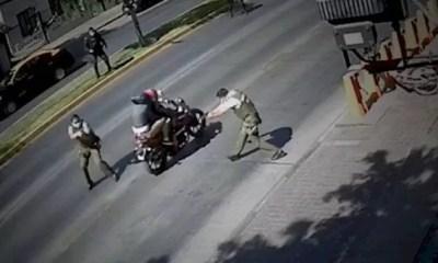 Carabinero dispara a su compañero