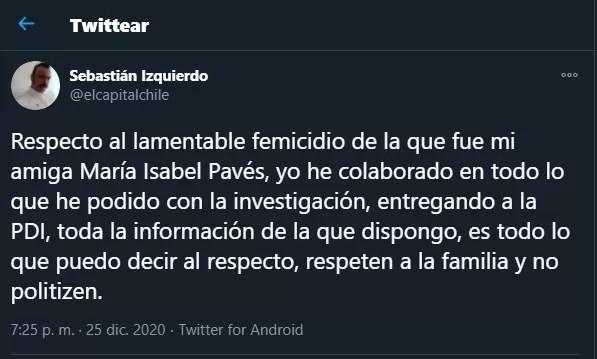 Tuit Sebastian Izquierdo 01 25-12-2020