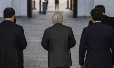 Sebastian Piñera y Ministros derrotados A SSs9dd1