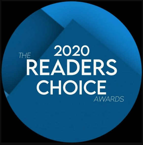 Winner of the Readers Choice Awards