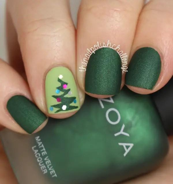 77 Fotos mágicas de Navidad festivas de las uñas decoradas (Le ...