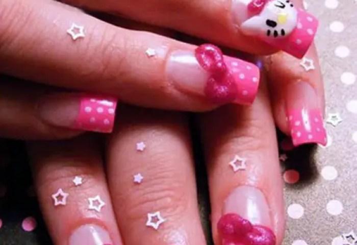 30 Ideas Frescas Decoración De Uñas De Hello Kitty Elutil