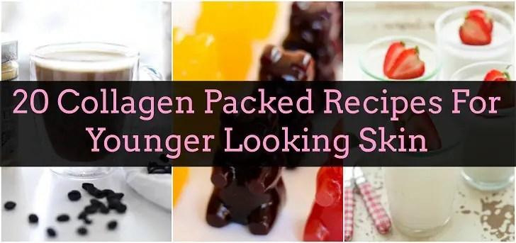 20 Recetas colágeno para llevar para una piel más joven