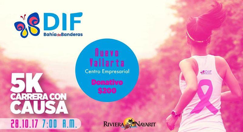 """Organiza DIF Bahía """"Carrera con Causa"""""""
