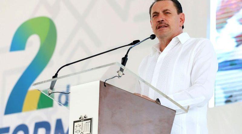 Convoca Jaime Cuevas a la unidad en su Segundo Informe de Gobierno