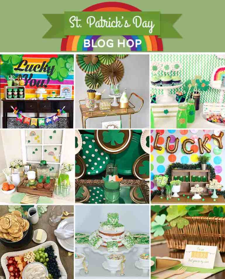 Free St. Patrick's Day Printables from the Blog Hop