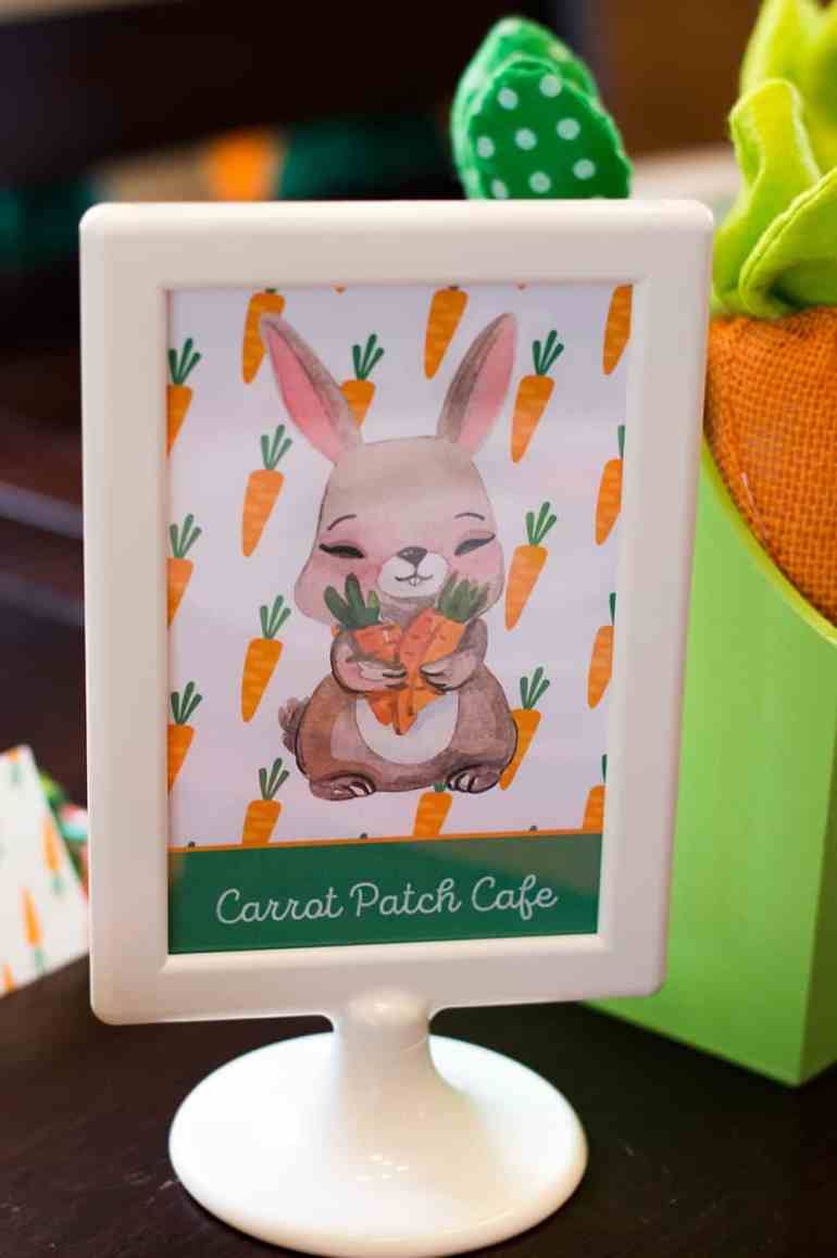 Carrot Patch Cafe Sign